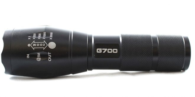 Customer Review – The G700 Military Grade Flashlight