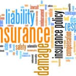Word cloud around vehicle insurance and related terms